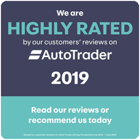 AutoTrader Highly Rated 2019